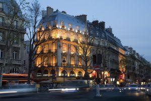 building motion blur city france paris car street
