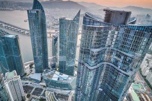 building skyscraper cityscape city busan