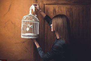 cages wall door women