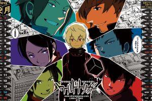 calendar numbers world trigger blonde red eyes anime 2013 (year) manga
