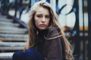camille rochette women blonde