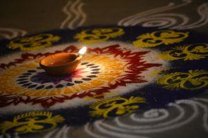 candles lights diwali festivals