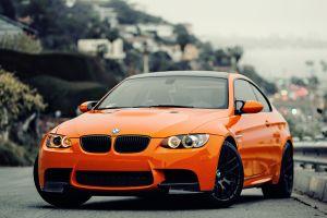 car bmw bmw m3 gts orange