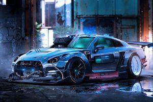 car digital art vehicle