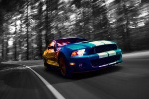 car ford mustang sports car