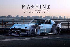car futuristic chevrolet corvette stingray khyzyl saleem