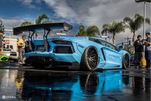 car lamborghini aventador vehicle lamborghini lb performance blue cars