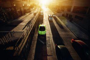 car lamborghini vehicle street