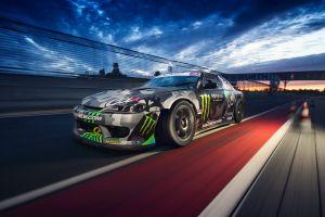 car monster energy nissan race tracks silvia