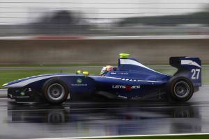 car rain motion blur race tracks