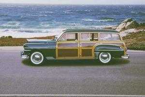 car sea road vehicle