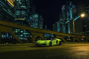 car supercars vehicle city green cars