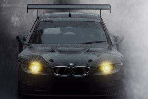 car vehicle rain bmw