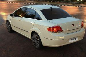 car white cars fiat vehicle