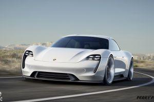 car white cars vehicle porsche