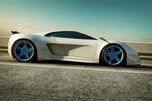 car white cars vehicle supercars
