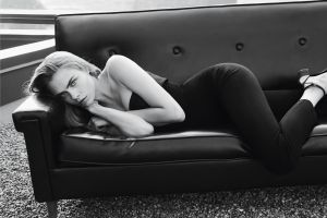 cara delevingne actress women blonde monochrome model