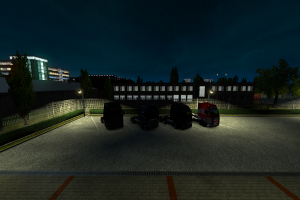 cargo night sun morning trucks video games car road euro truck simulator 2