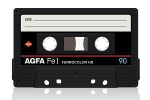 cassette numbers vintage