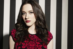 celebrity actress brunette women long eyelashes kat dennings brown fair skin