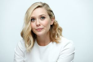 celebrity elizabeth olsen  dyed hair actress simple background women