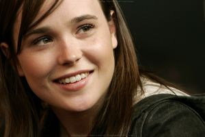 celebrity ellen page face women smiling eyes
