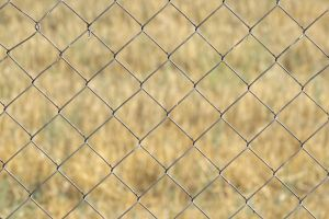 chain-link fence metal