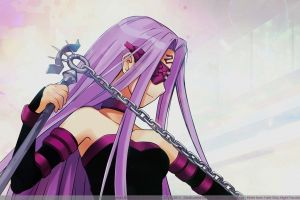 chains rider (fate/stay night) fate series 2015 (year) anime anime girls