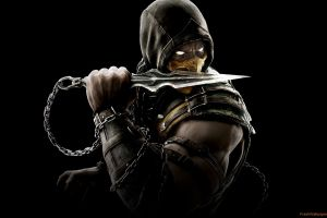 chains video games scorpion (character) mortal kombat x hoods