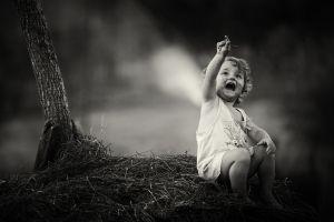 children photography monochrome