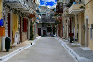 chios urban street