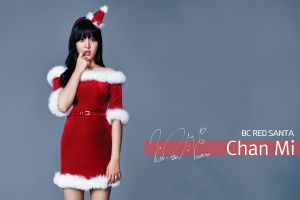 christmas k-pop aoa chanmi