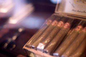 cigars boxes smoking