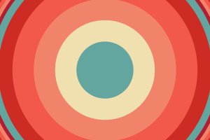 circle abstract colorful pattern