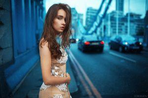 city ivan gorokhov road portrait women