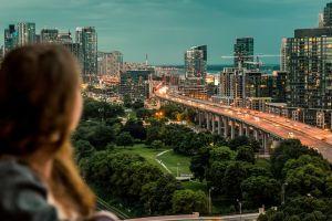 city lights photography traffic city road cityscape