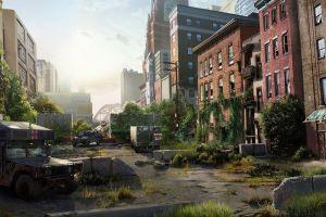 city ruin ruin the last of us apocalyptic futuristic video games video game art