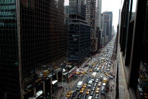 cityscape street city traffic new york city