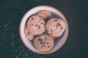 coffee cookies bowls sweets food