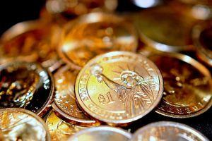 coins money gold metal