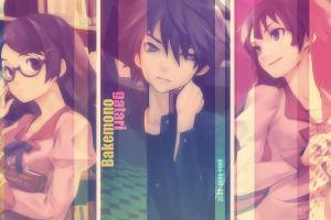 collage anime boys anime girls