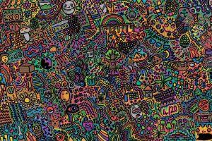 colorful drawing artwork