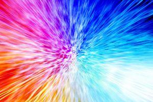 colorful shapes digital art