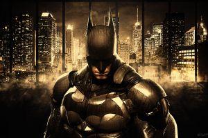 comics batman: arkham knight cityscape dc comics concept art gotham gotham city skyscraper batman
