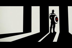 comics captain america marvel comics silhouette