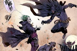 comics joker comic art batman
