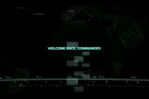 command & conquer black commander simple typography
