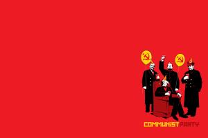 communism simple background politics