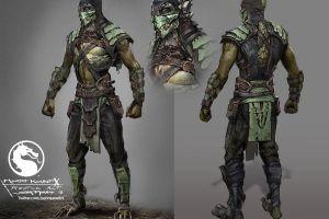 concept art video games mortal kombat x reptile (mortal kombat) artwork digital art