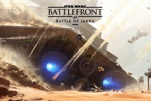 concept art video games star wars: battlefront